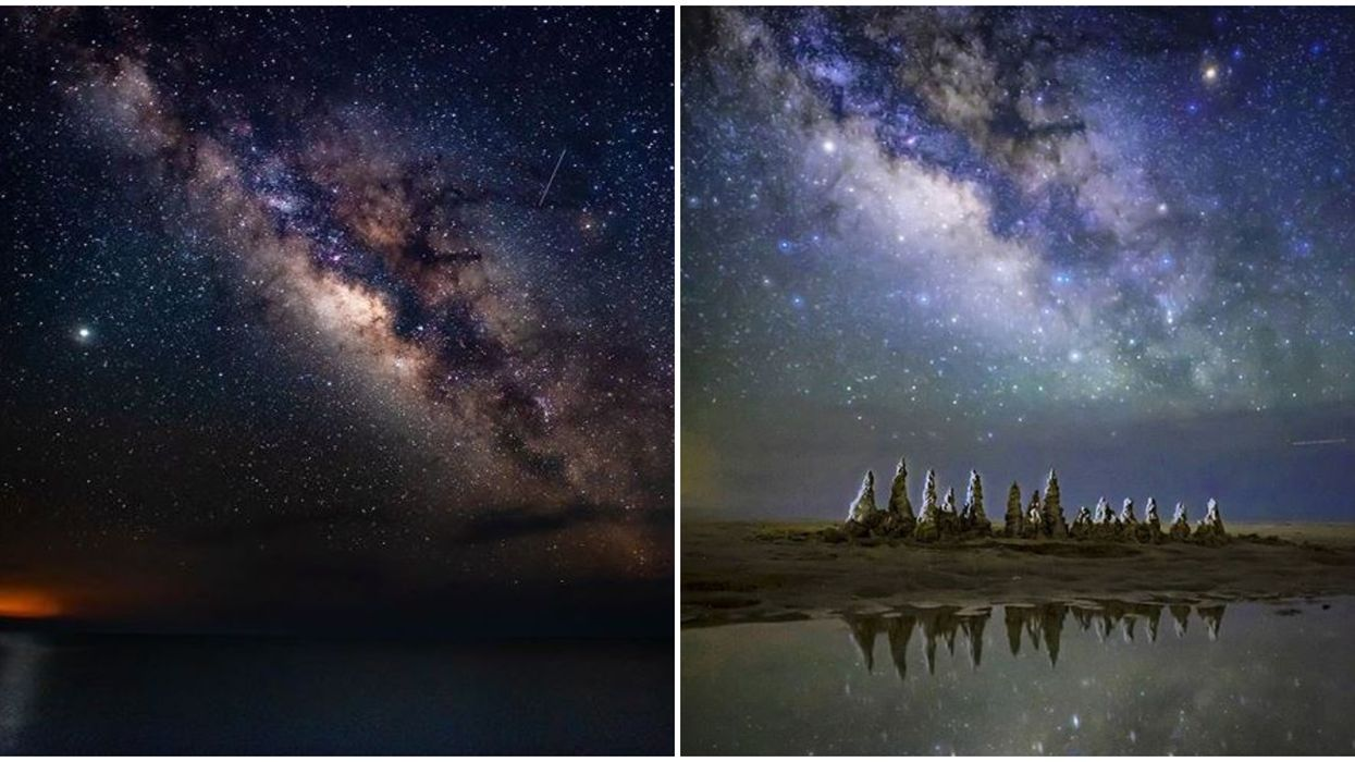 St. George Island State Park Stargazing In Florida Gives Incredible Views Of The Milky Way