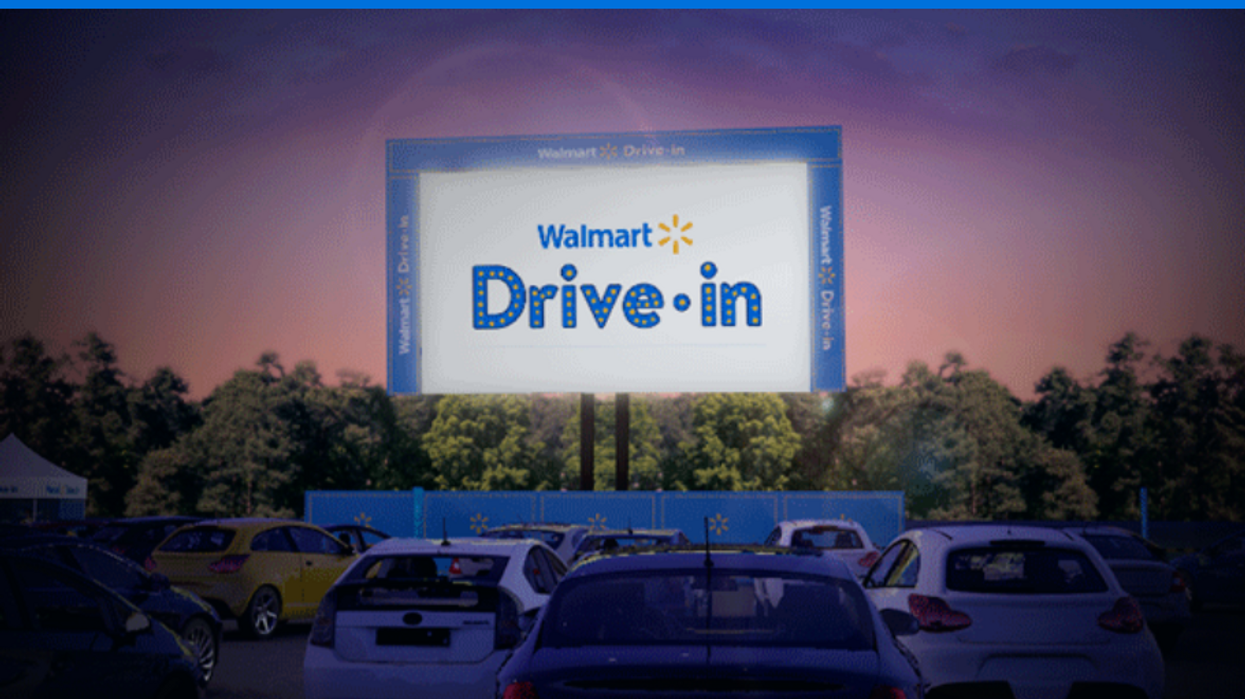 Walmarts In Florida Drive In Theaters Will Take Over Their Parking Lots This Month