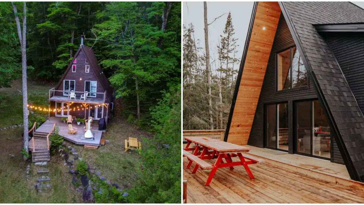 These Cozy A-Frame Cottage Rentals In Ontario Will Make You Dream Of Fall
