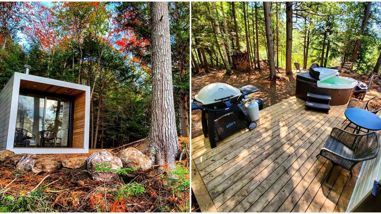 This Airbnb In Muskoka Is An Off-Grid Escape From Toronto You'll Never Want To Leave