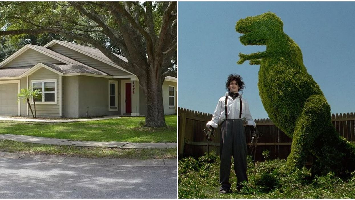 Edward Scissorhands House For Sale In Florida Where The Movie Was Filmed Could Be Yours