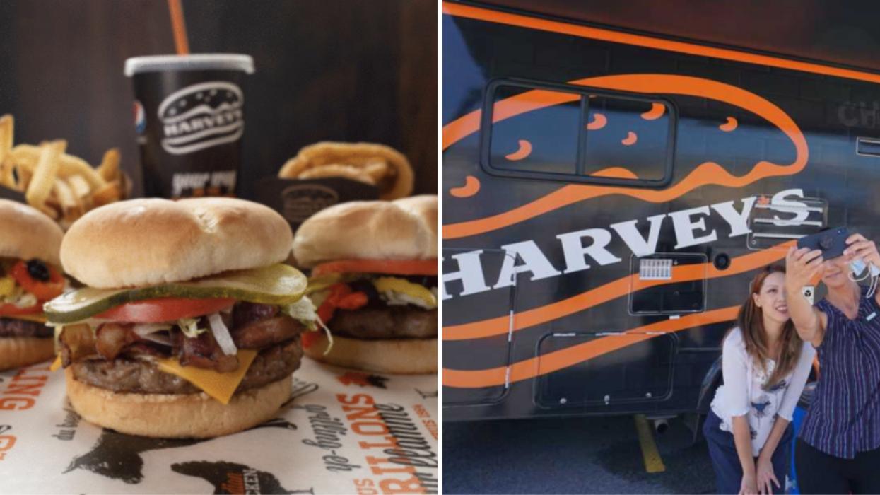 Harvey's donne des hamburgers gratuits à Gatineau aujourd'hui