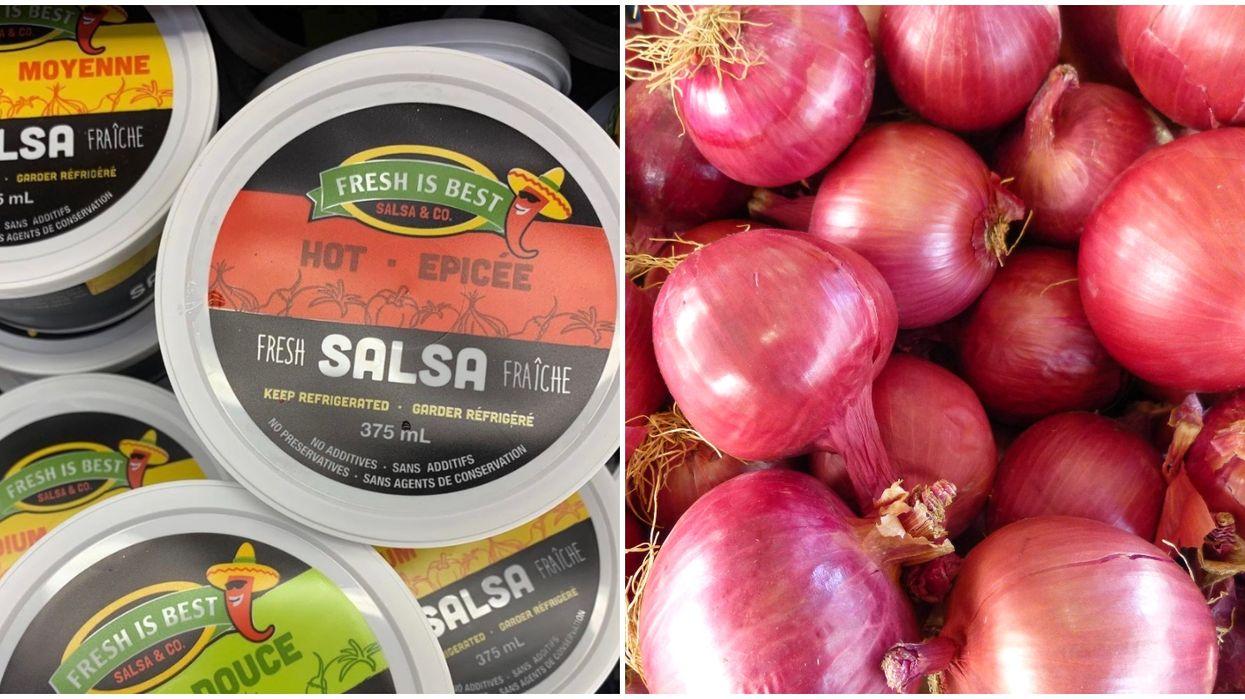 Canada's Salmonella Onion Recall Also Includes Salsa & Salads Now