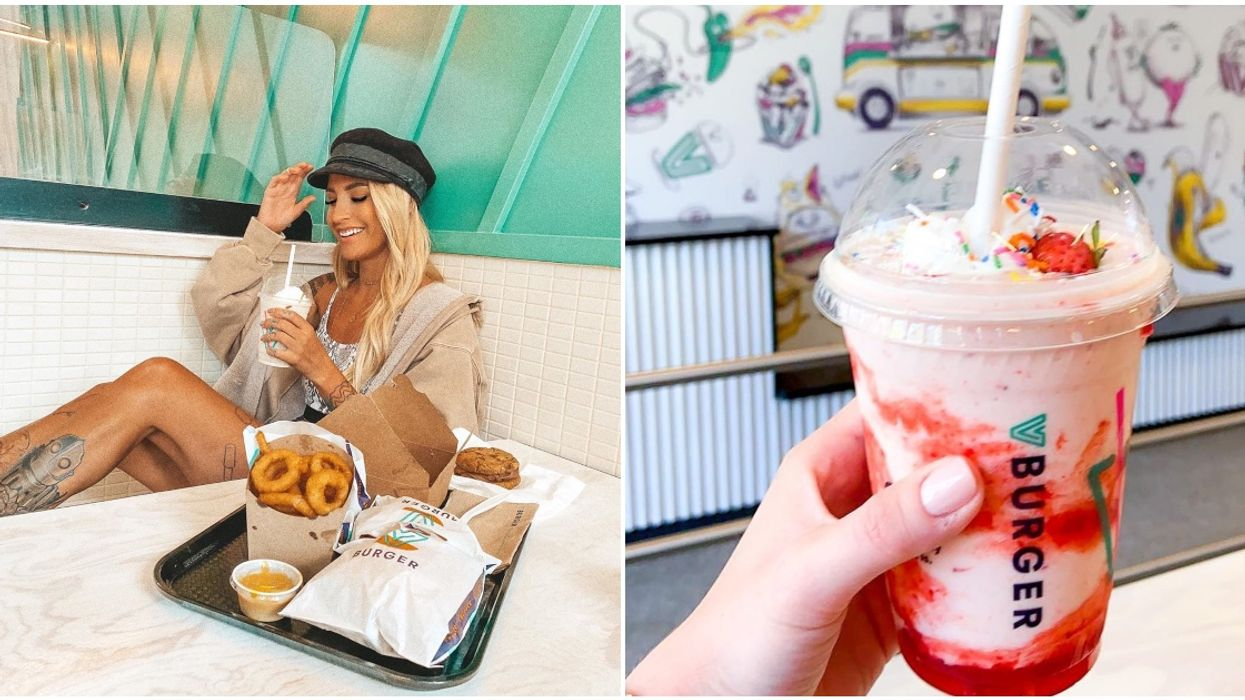 This Calgary Burger Joint Is 100% Plant-Based & They Even Have Milk Shakes