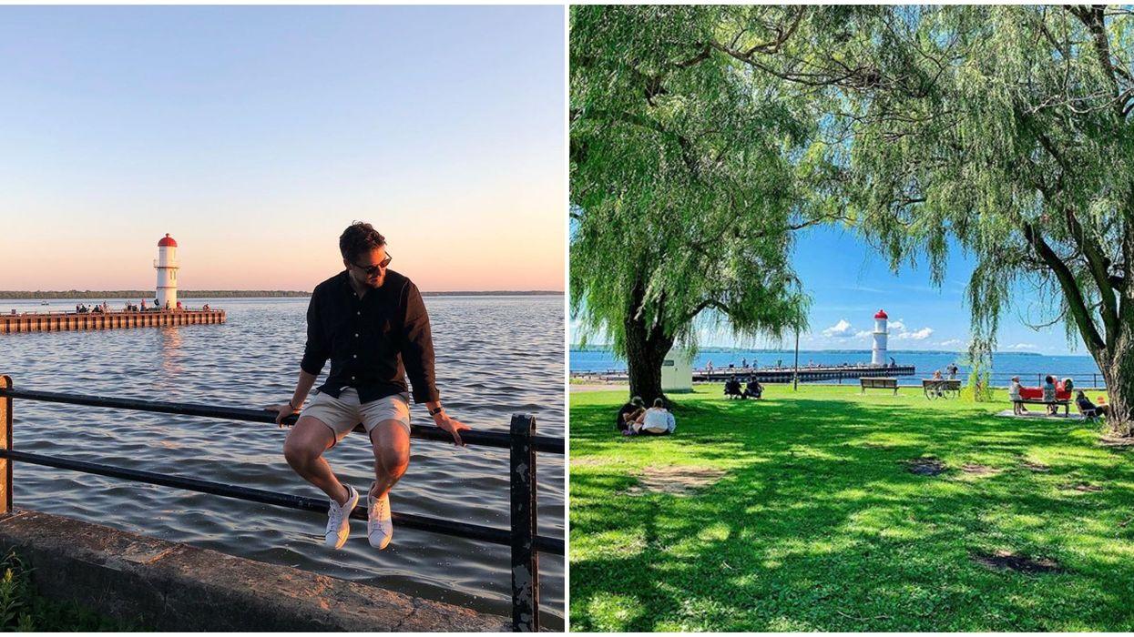 Tu peux passer une journée « staycation » parfaite au bord de l'eau à ce phare de Montréal