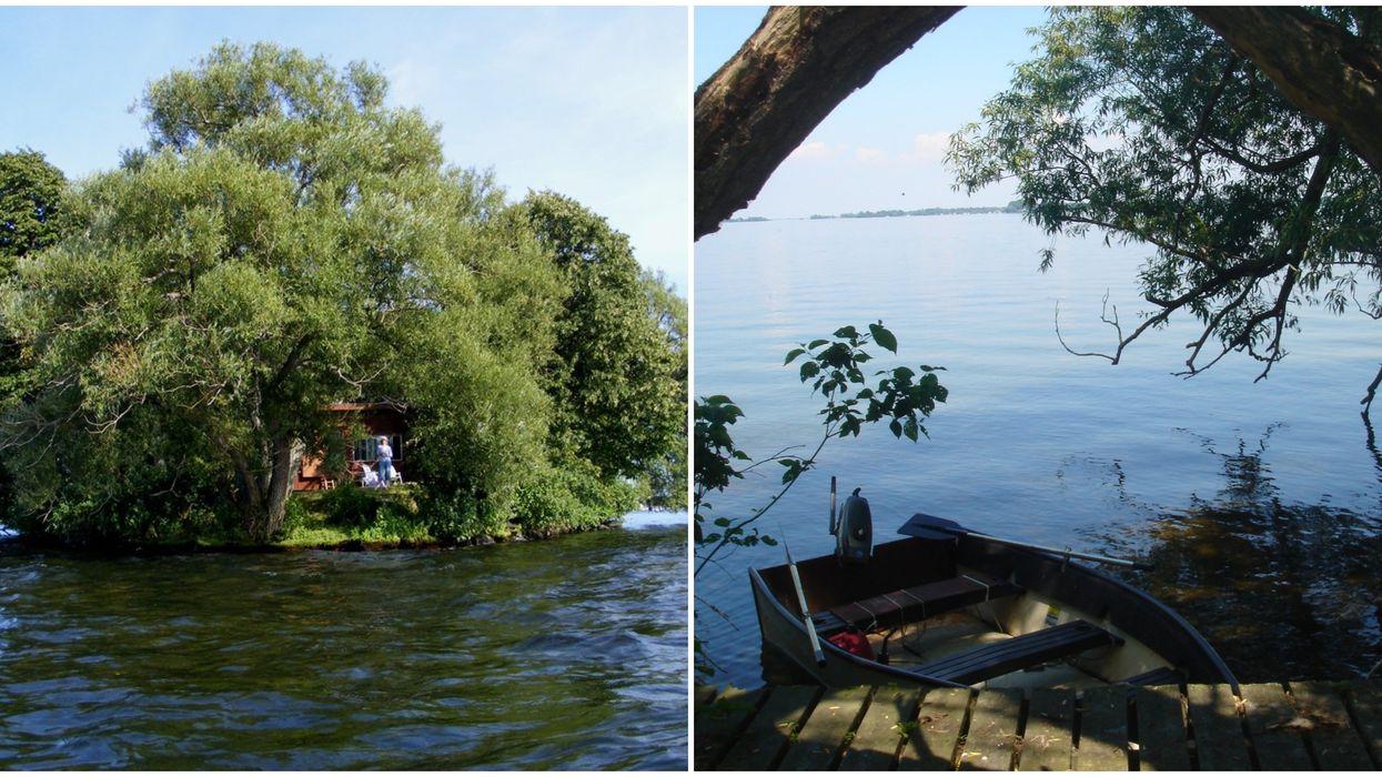 Île privée à vendre dans le lac Saint-François en Montérégie pour seulement 150 000 $