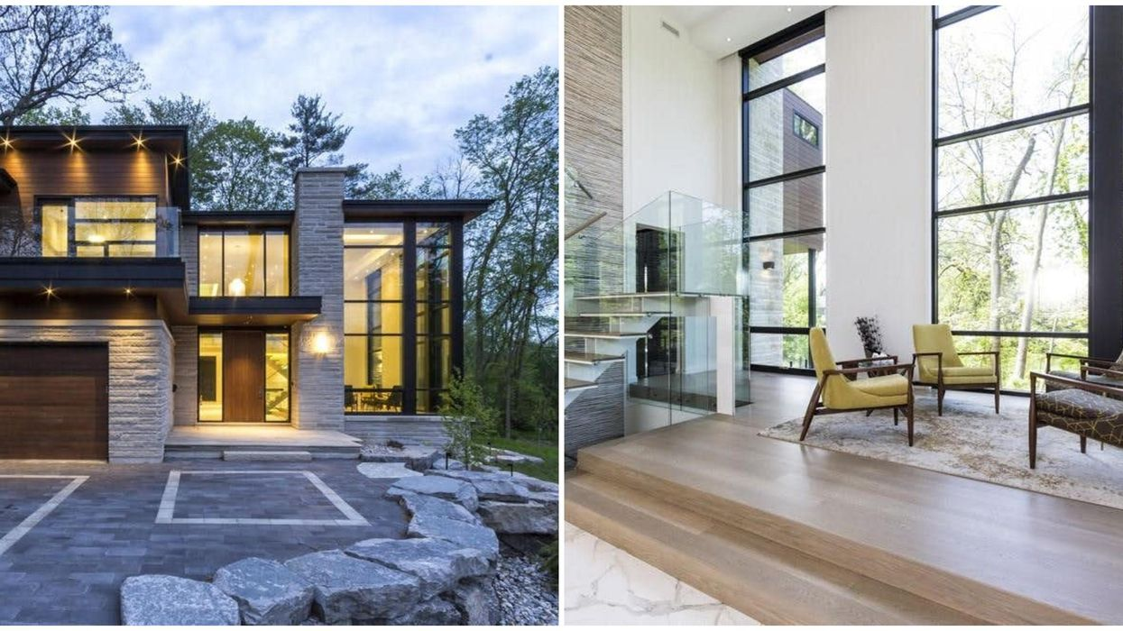 This Massive Glass House For Sale In Ontario Looks Like It Belongs In 'Twilight' (PHOTOS)