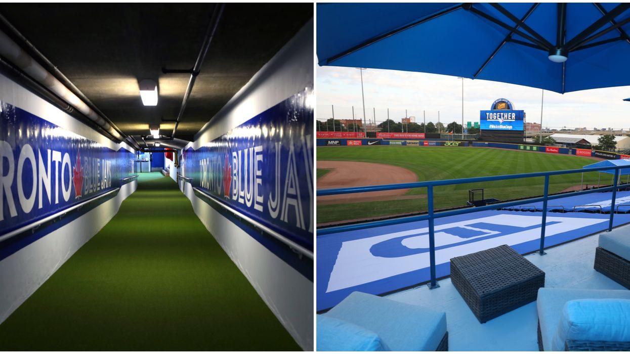 Toronto Blue Jays In Buffalo Have Basically Created A Mini Rogers Centre (PHOTOS)