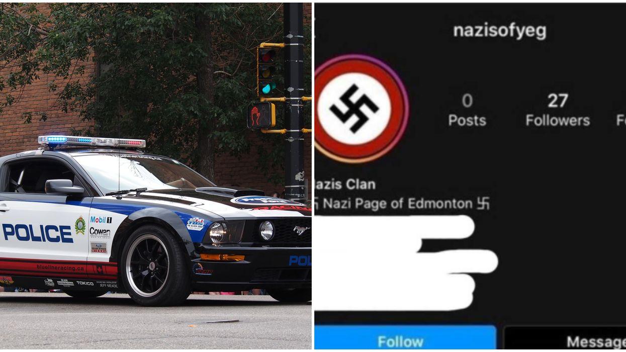 Edmonton Police Shut Down Teen's Nazi Instagram Targeting Another Student