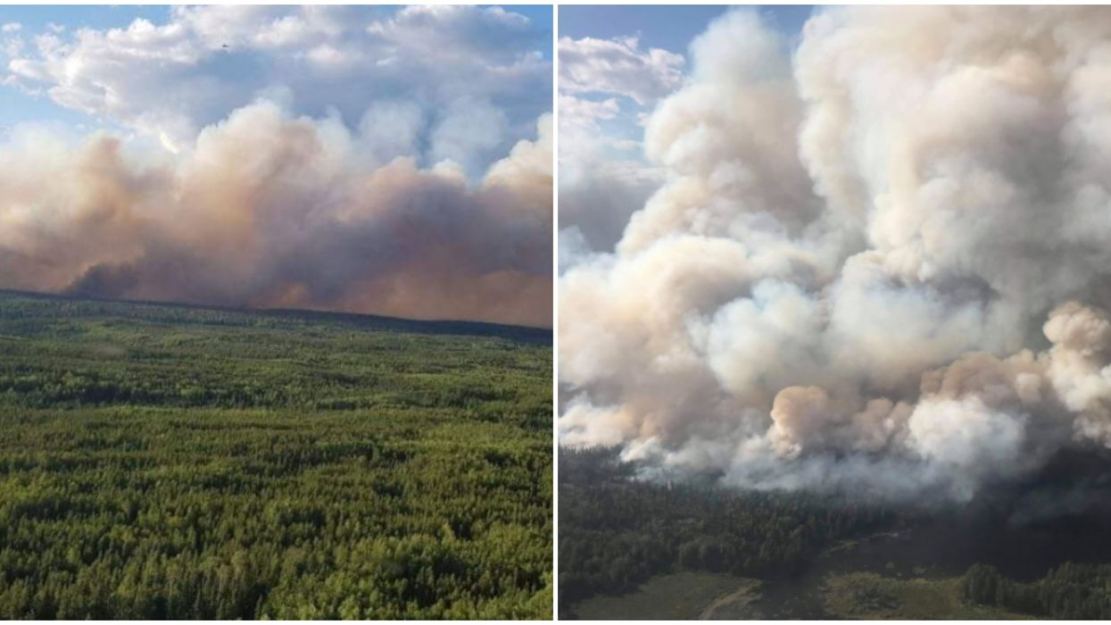 The Red Lake Forest Fire Is Still Burning & Ontario Cities Are Taking In Evacuees