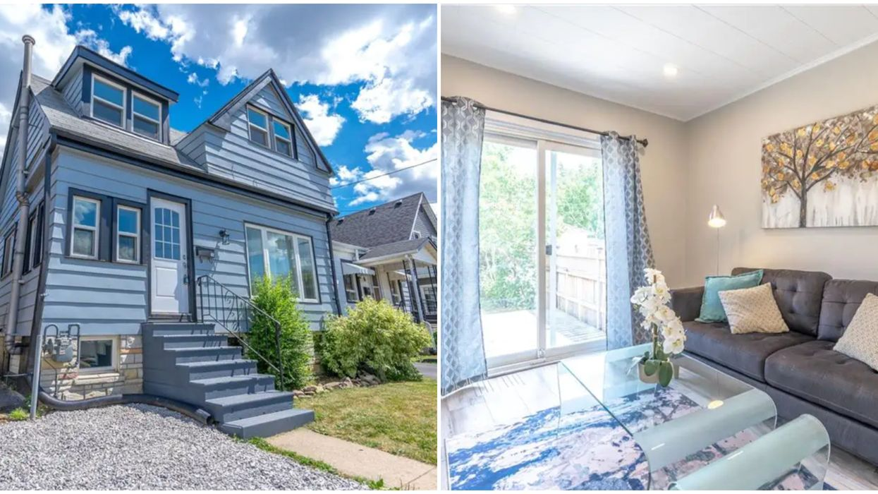 A House For Sale In Hamilton Is The Perfect Starter Home For Under $300K