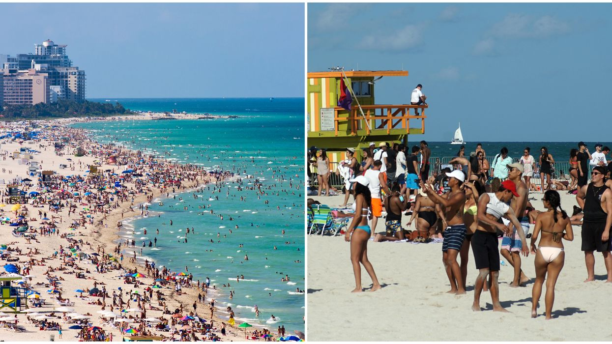 Miami-Dade Beach Mask Requirement Fines Total More Than 14K From Hundreds Of People