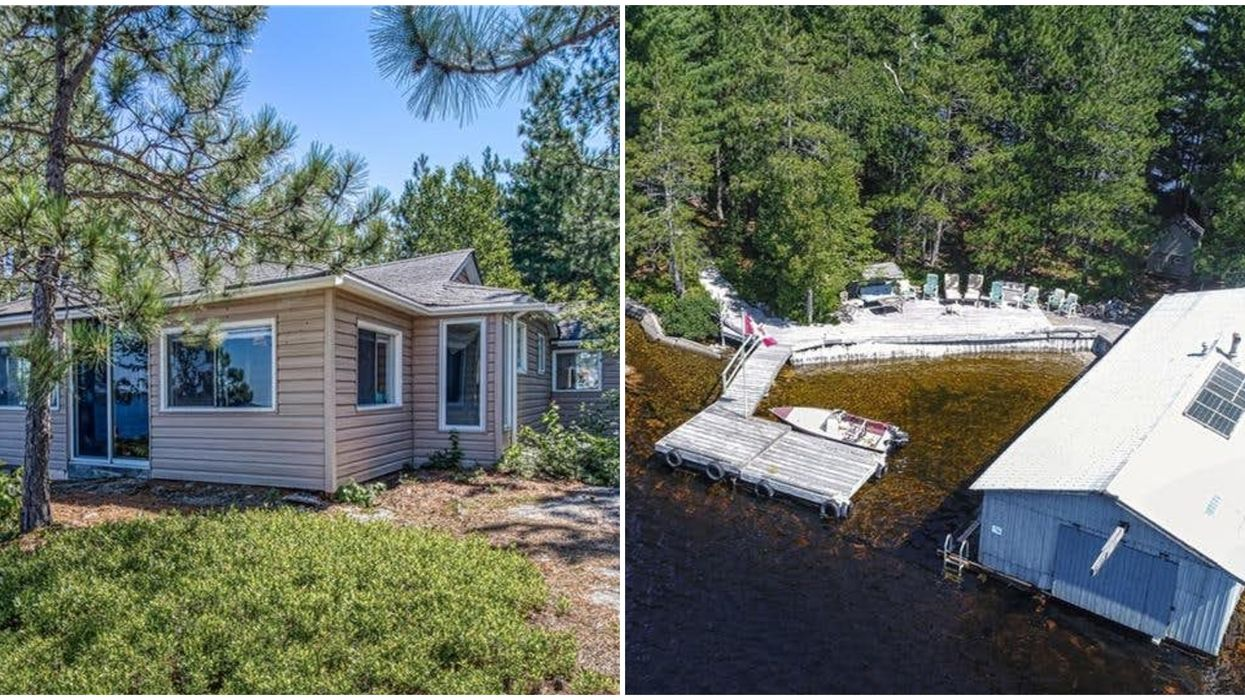 A Cheap Ontario Home For Sale Is A Private Island Complex With Room For All Your Friends