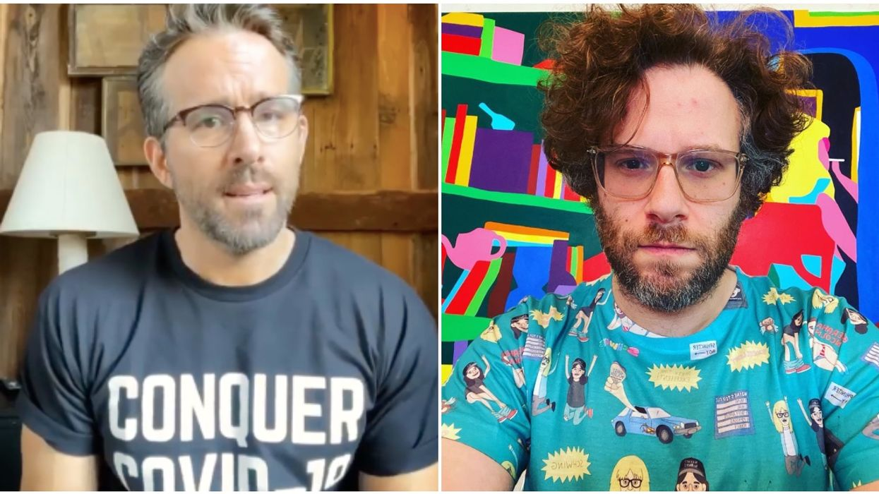 BC Premier Is Begging Ryan Reynolds & Seth Rogen To Make People Stop Partying