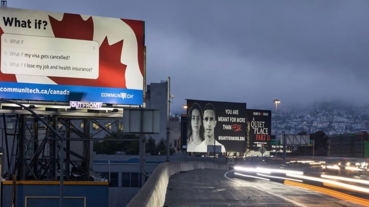 A Canadian Company Put Up Billboards In Silicon Valley To Bring Workers To The North