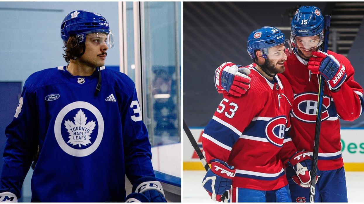 A Montreal Canadiens Billboard In Toronto Is Trolling Leafs Fans Over The Gardiner