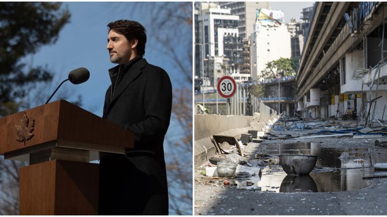 Trudeau Confirms 'With A Heavy Heart' That 2 Canadians Were Killed In The Beirut Explosion