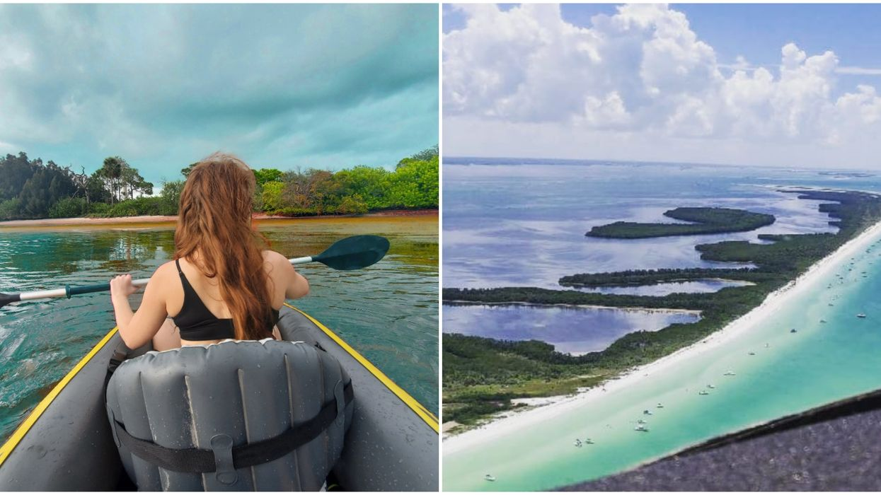 You Can Kayak To Untouched Island Oases Off This Coastline Near Tampa