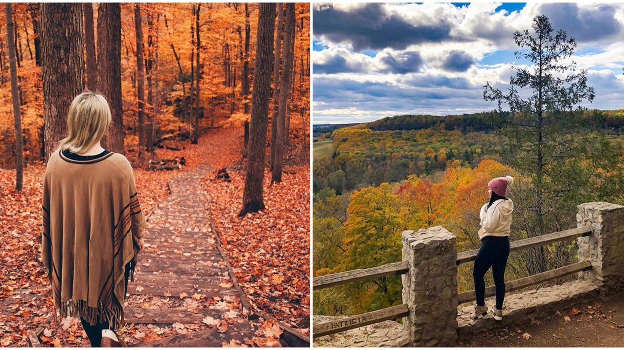 8 Perfect Fall Hikes You Have To Try In Ontario