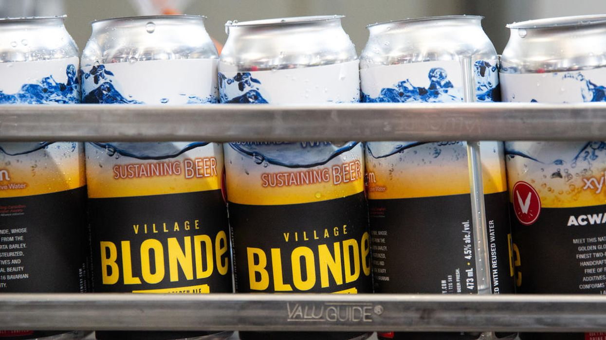 A Calgary Brewery Hopes People Won't Be Grossed Out By Their New Wastewater Beer