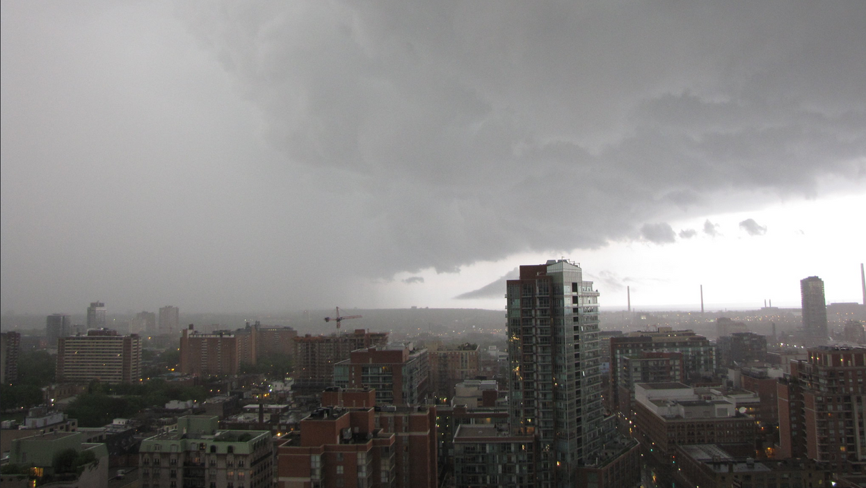 Toronto's Latest Wild Stormy Weather Is Nickel-Sized Hail On Monday (VIDEOS)