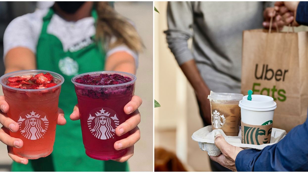 Someone In Toronto Just Set A New Record For Starbucks Delivery Orders In Canada