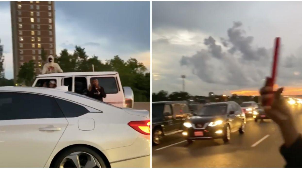 Toronto Music Video Shooting Took Over Highway 401 (VIDEO)