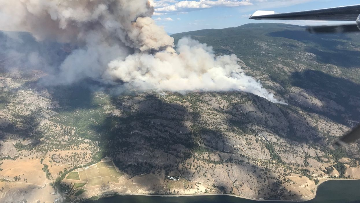 Hundreds Of BC Homes Are Under Evacuation Order After 52 Fires In 24 hours