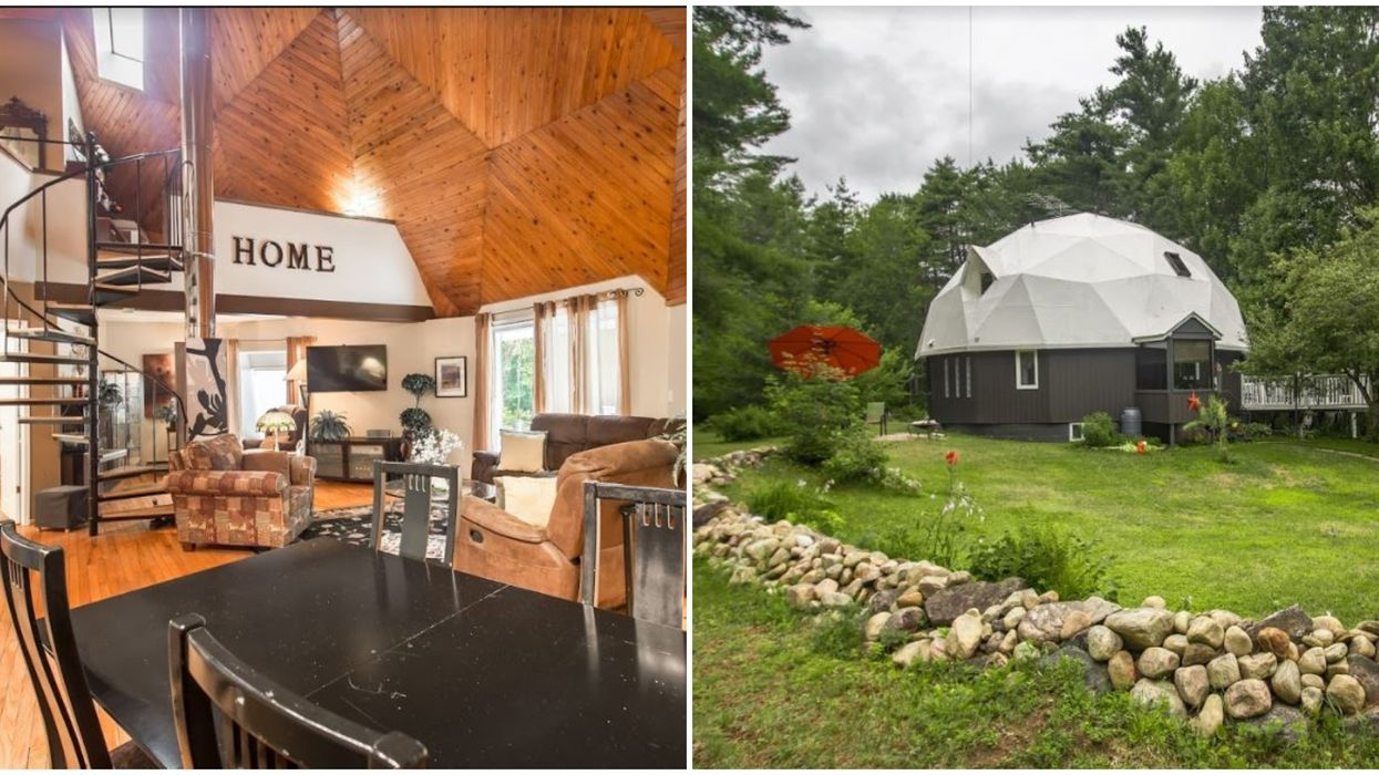 This 5-Bedroom Dome House For Sale In Ontario Is Only $295K (PHOTOS)