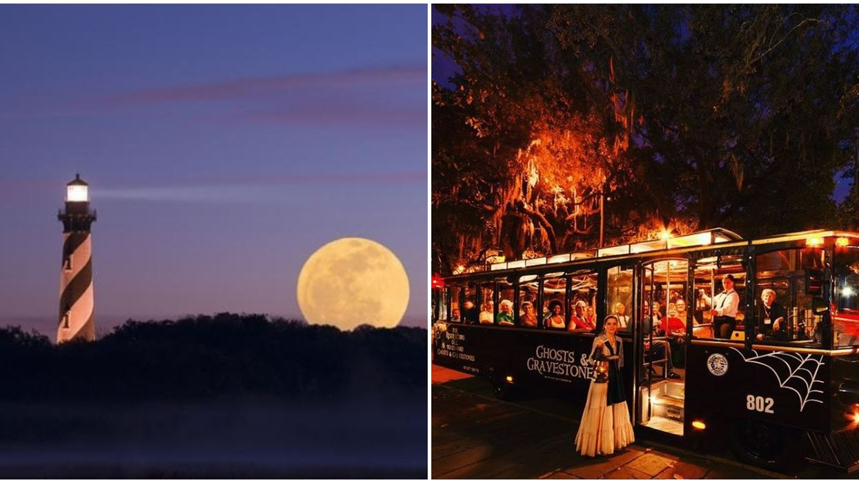 Haunted St. Augustine Tour Will Take You To The Creepiest Spots In Florida Next Month