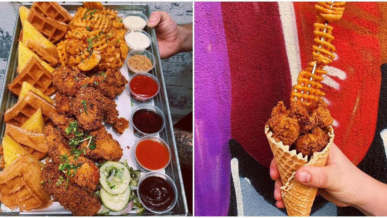 Tampa Restaurant Fork And Hen Takes Fried Chicken And Waffles To The Next Level