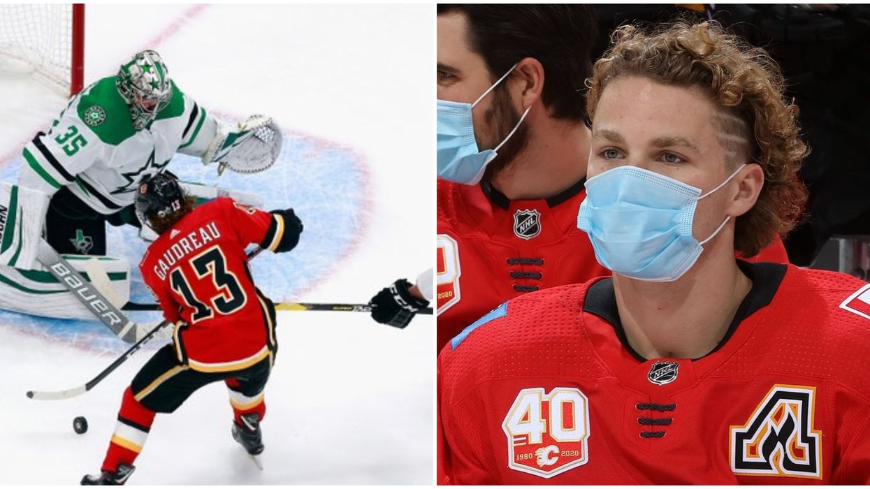 Matthew Tkachuk's Tantrum During The Flames' Heartbreaking Loss Was Such A Mood (VIDEO)