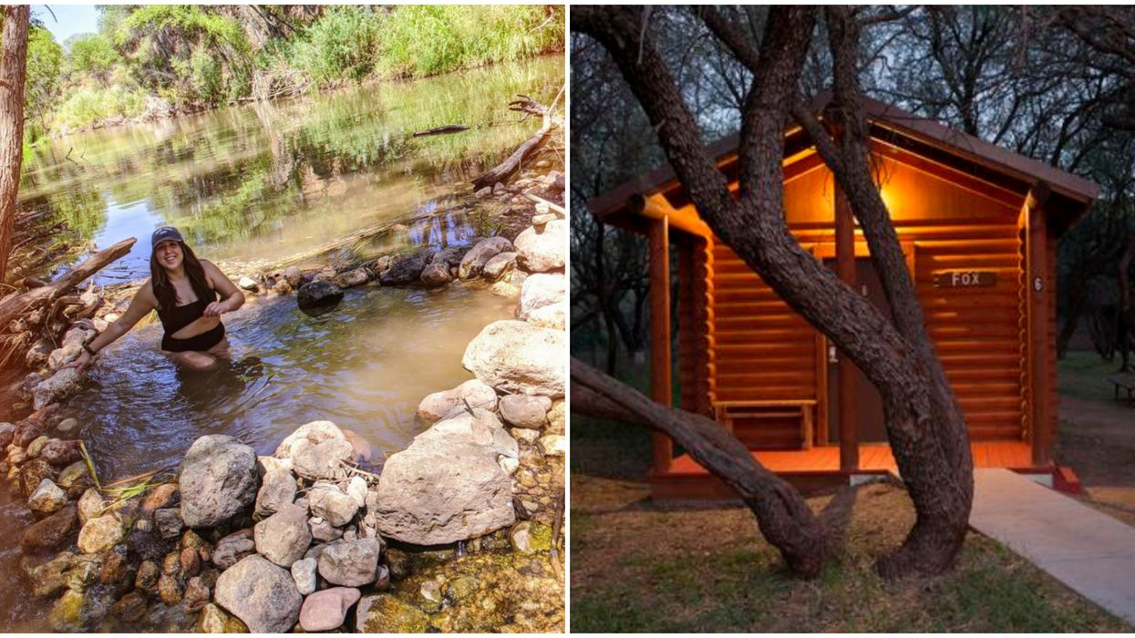 Dead Horse Ranch State Park In Arizona Has Adorable But Spooky Looking Cabins