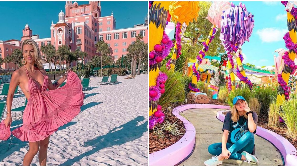 Pink Places In Florida For The Perfectly Posh Girls Getaway