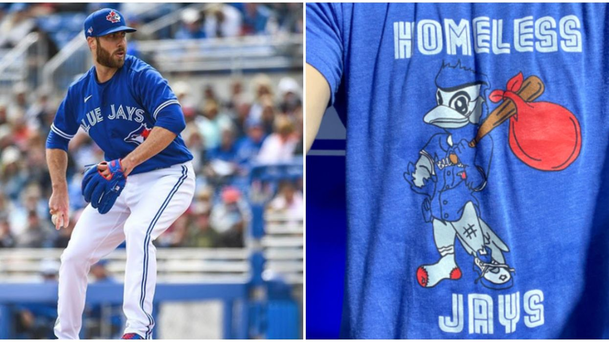 Toronto Blue Jays Apologize For Offensive 'Homeless Jays' T-Shirts