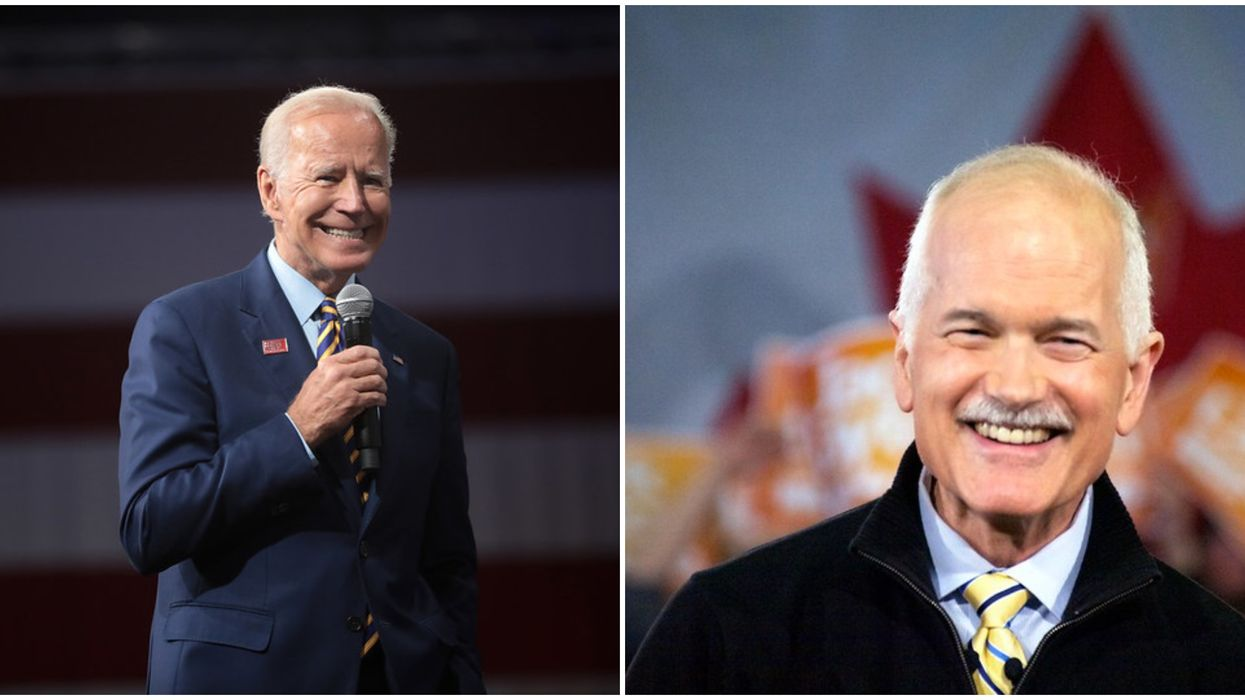 Joe Biden's Speech Was Weirdly Similar To Jack Layton's Dying Words To Canada