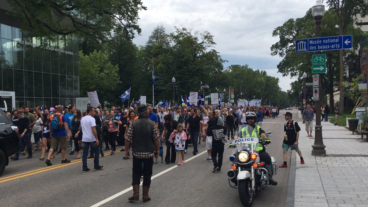 Masque obligatoire dans les écoles : Manifestation à Québec ce dimanche midi