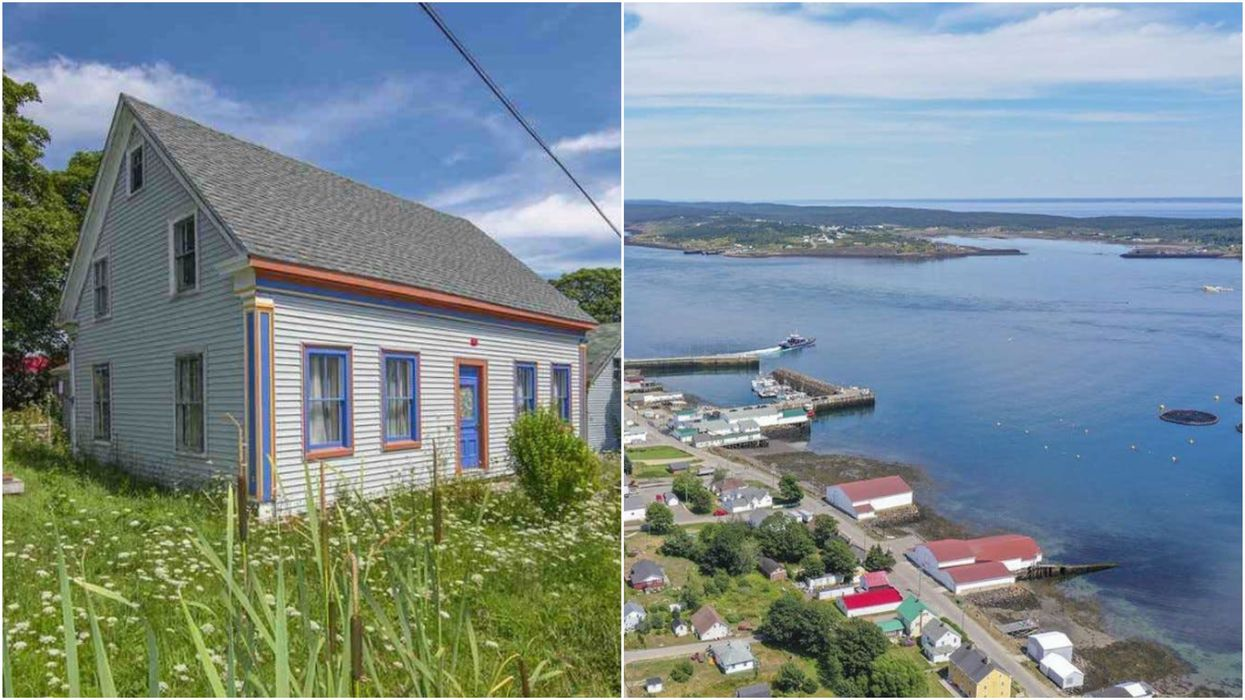 House For Sale In Nova Scotia Is Right Beside The Beach & It Costs Less Than $50K