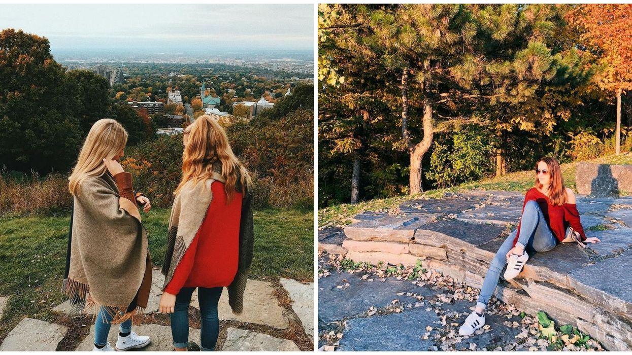 Le Belvédère Outremont à Montréal est LA place pour admirer les couleurs de l'automne