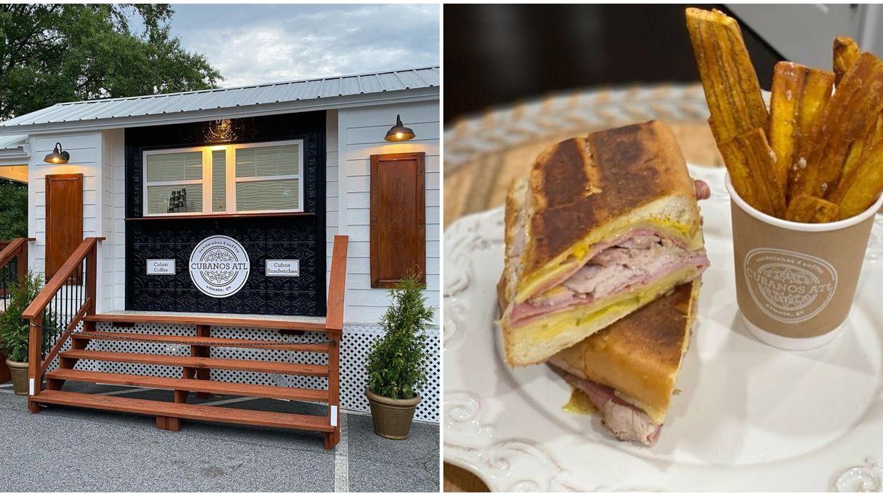 Eatery Near Atlanta Serves Authentic Cuban Sandwiches From A Custom Built Tiny House