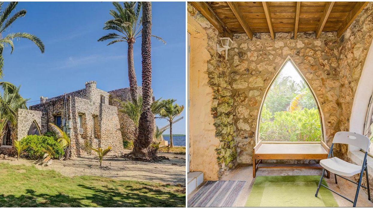 Home For Sale In Florida Keys Sound Rock Castle Is Modern Fairy Tale Dream