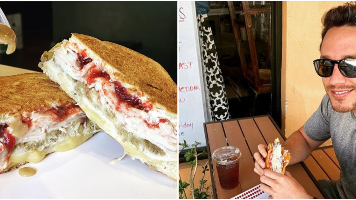 Florida Restaurant Pom Pom's Teahouse and Sandwicheria Offers Themed Sandwiches For Fall