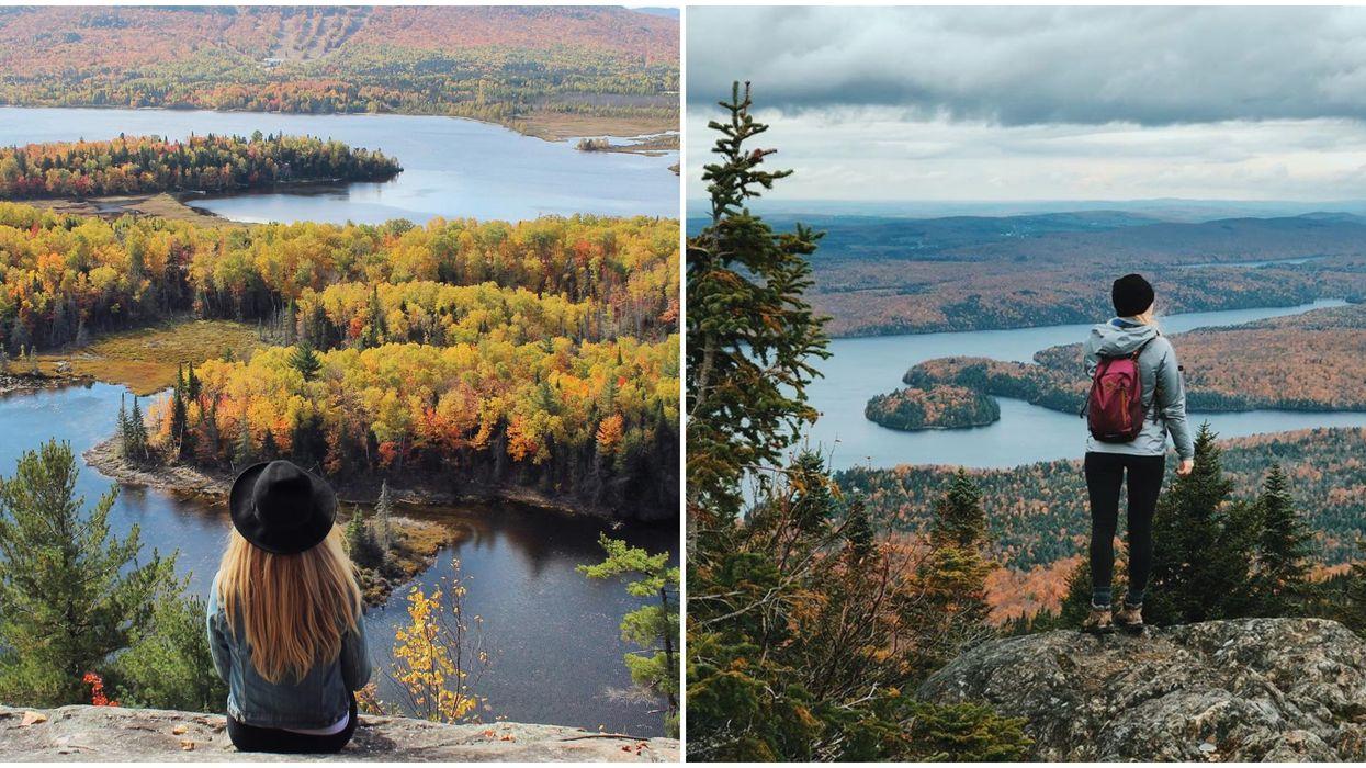 7 hikes faciles à faire avec une vue à couper le souffle cet automne
