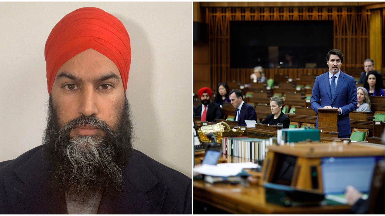 Jagmeet Singh Called Out Trudeau Again For Not Dealing With Canada's Systemic Racism