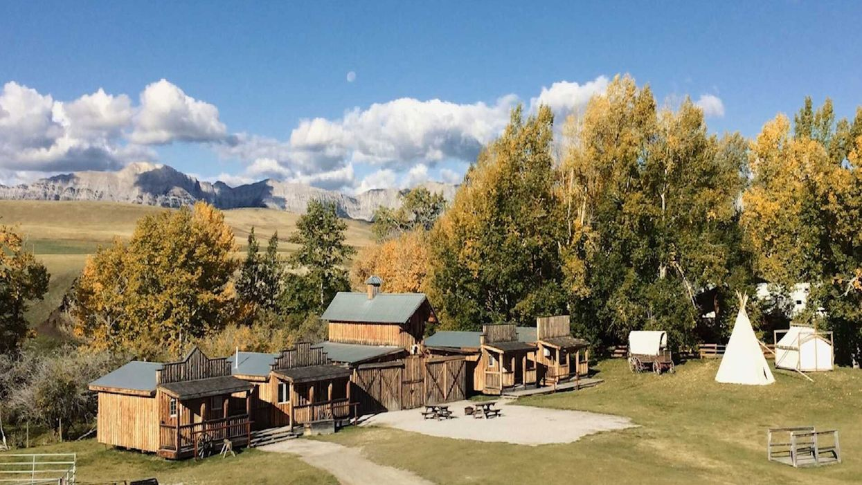 Town For Sale In Alberta Is A Wild West Village & You Could Be The Sheriff