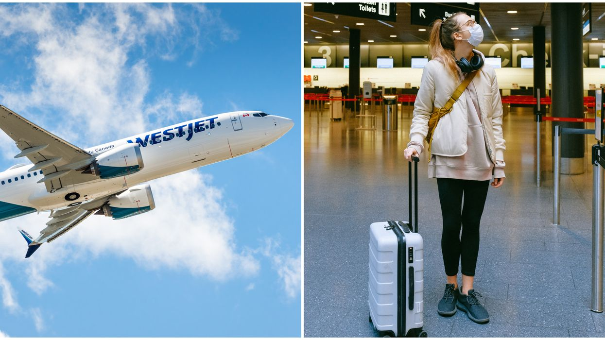 WestJet Mask Policy Is Getting Stricter & You Can Get A 1 Year Travel Ban For Not Wearing One