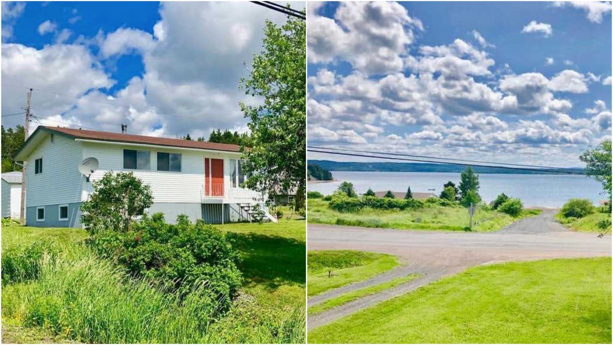 House For Sale In Newfoundland Is Right By The Water & Under $130K