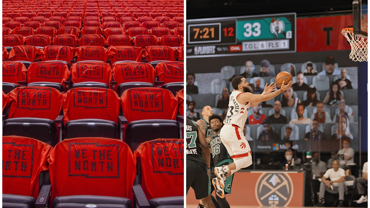 You Can Win A Signed Official Toronto Raptors Jersey This Week Thanks To Tangerine Bank