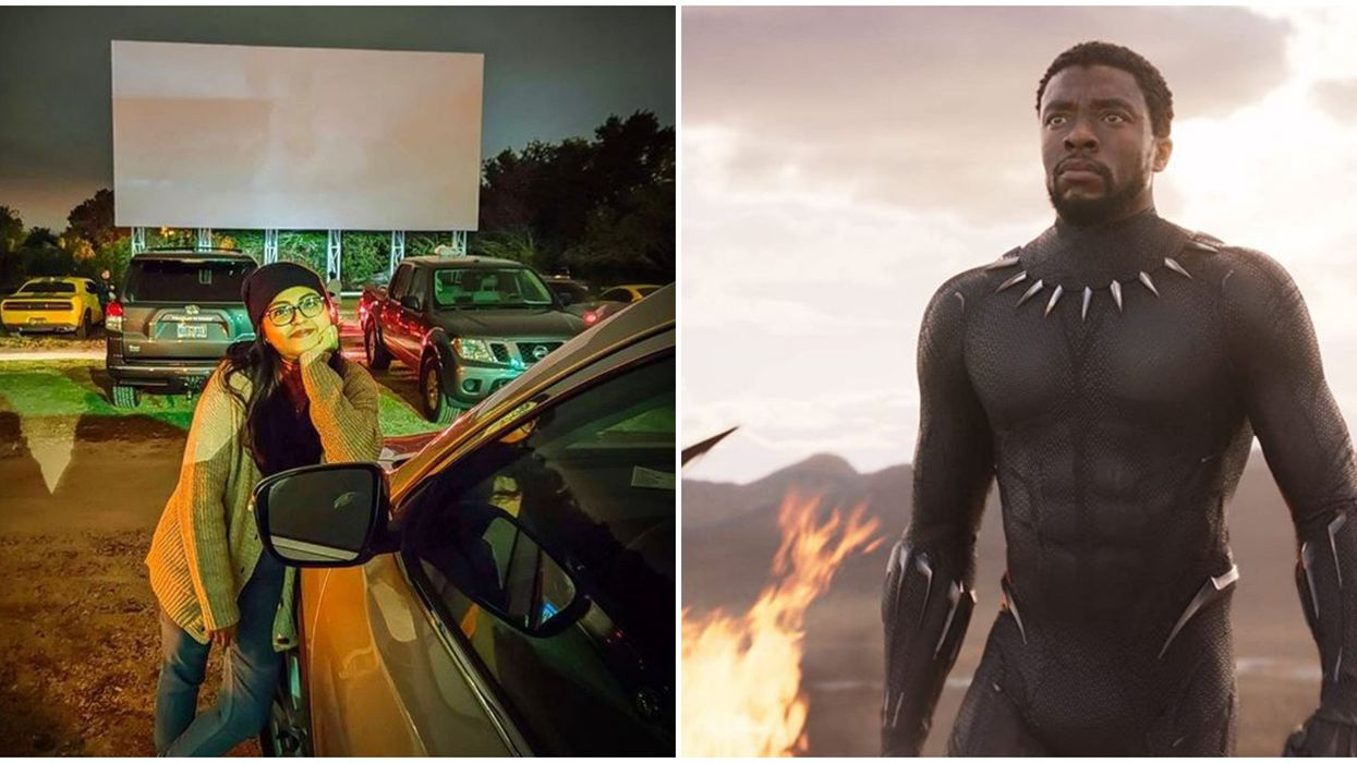Florida Drive In Movie Theater Showing Black Panther For $6 This Week