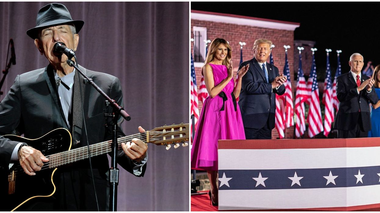 Leonard Cohen's Hallelujah Was Used Twice By Donald's Trump Party Without Approval